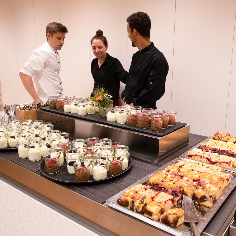 Finanz-Symposium: Kuchen