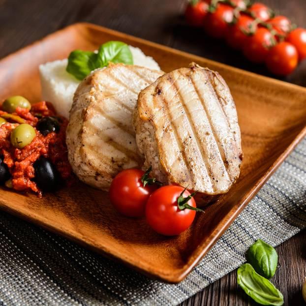 Thunfisch grillen: Gegrillte Thunfischsteaks