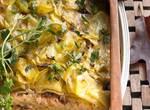 Kartoffel-Lachs-Auflauf
