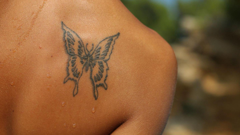 Schmetterling wofür steht tattoo ein Weisse Tattoos: