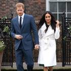 Meghan Markle mit Prinz Harry