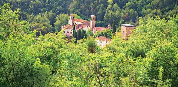 Portico di Romagna: Italien mal anders