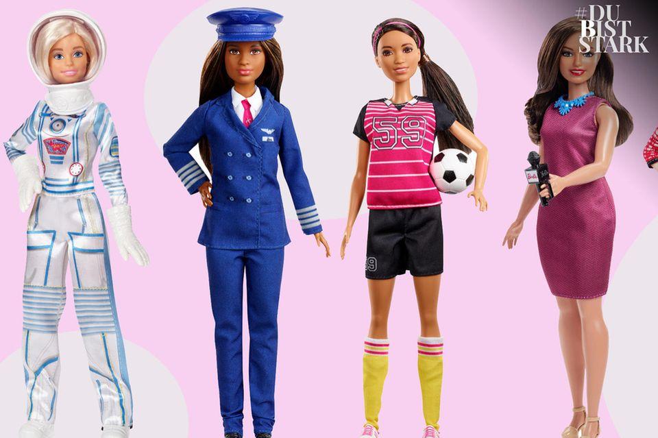 Barbie als Powerfrau