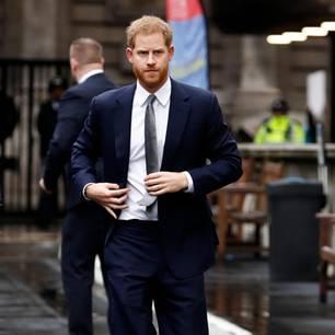 Donald Trump: Prinz Harry guckt böse