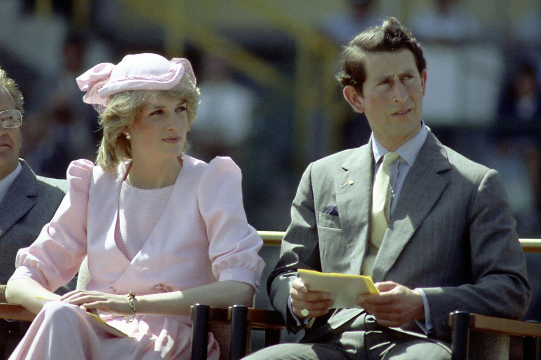 Prinz Charles mit Lady Diana