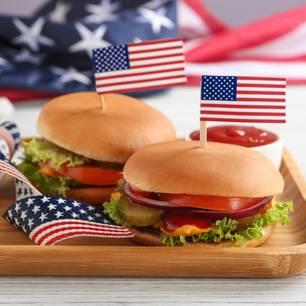 Amerikanisches Essen