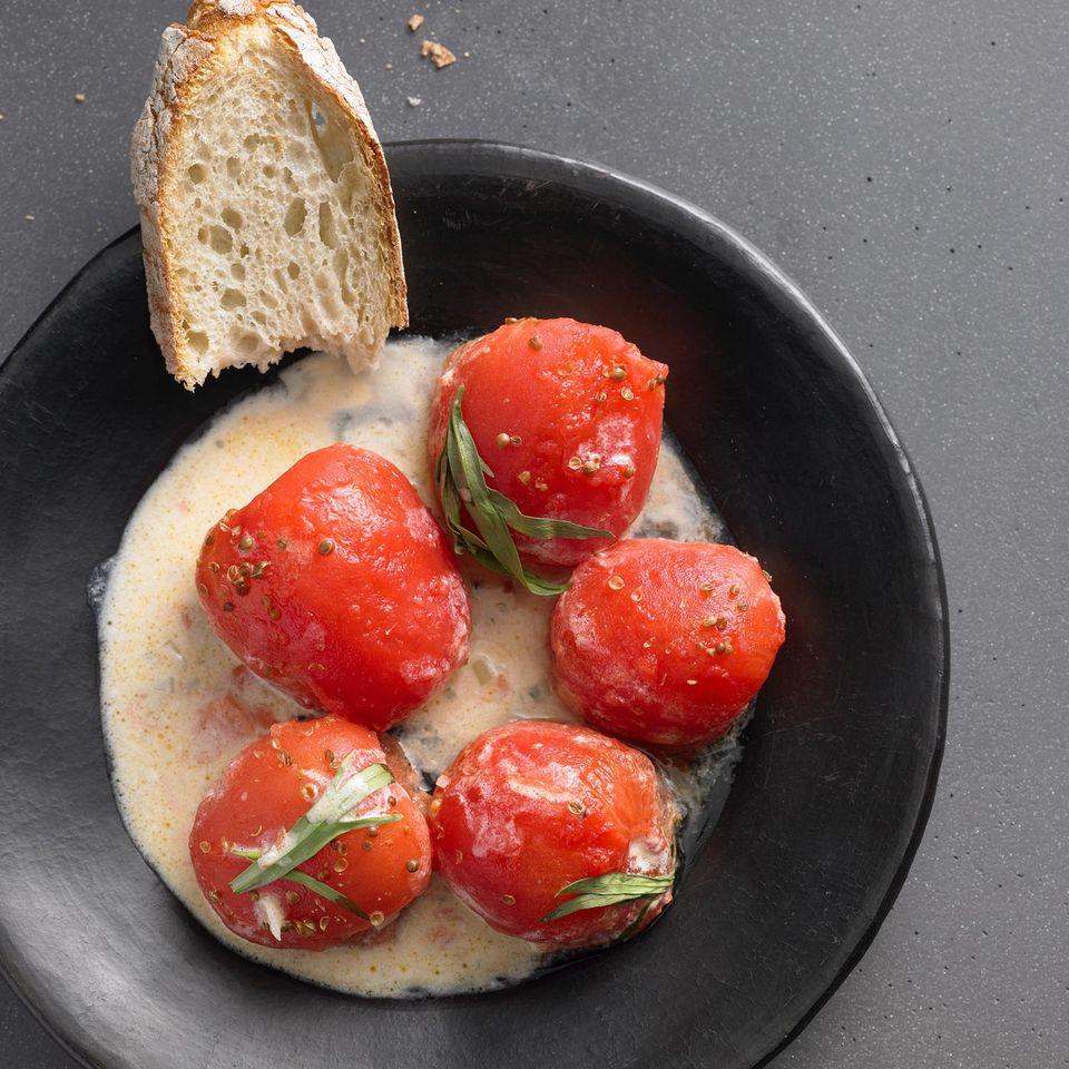 Geschmorte Tomaten