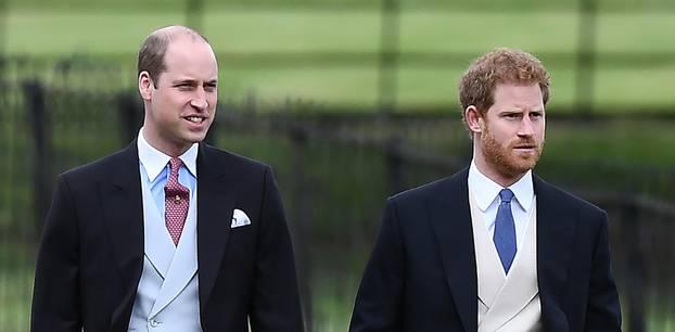 Prinz Harry und sein Bruder Prinz William