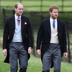 Prinz Harry und sein Bruder Prinz William