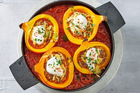 Tomatensoße mit Kürbis