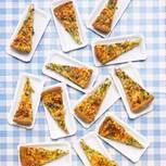 Quiche mit Marsala-Zwiebeln