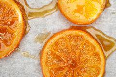 Orangenscheiben kandieren