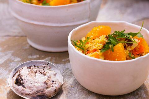 Orangen-Couscous
