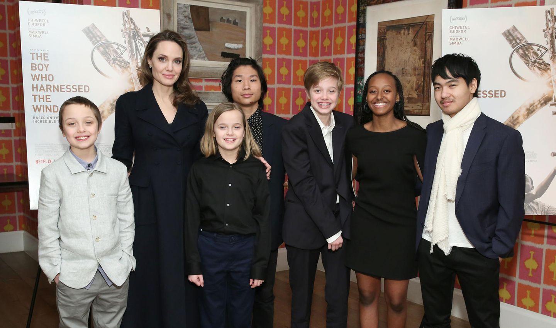 Angelina Jolie & ihre Kinder