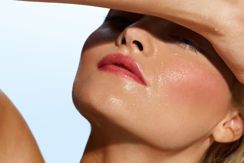 Make-up bei Hitze
