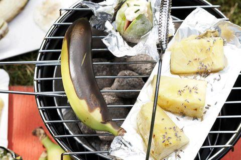 Gegrillte Bananen