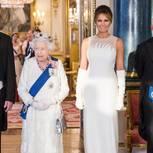 Staatsbankett: Queen Elisabeth I mit Donald und Melania Trump, Prinz Charles und Herzogin Camilla