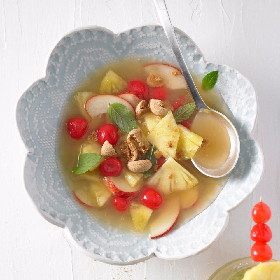 Ananas-Kaltschale