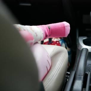 Missouri: Baby (11 Monate) stirbt nach 15 Stunden in heißem Auto: Baby in Auto