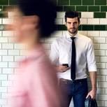 Bensching: Mann und Handy