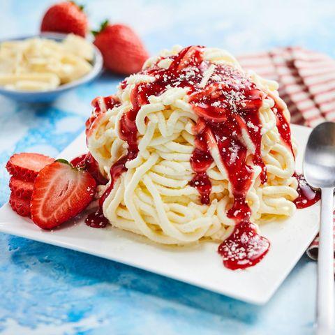 Spaghetti-Eis selber machen