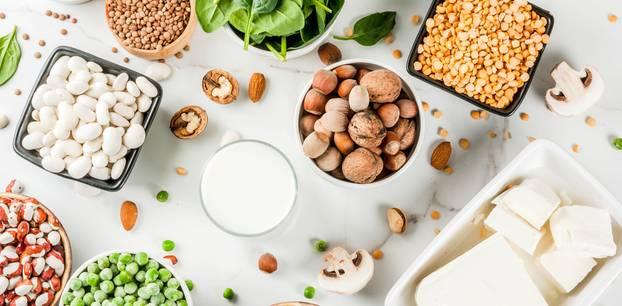 Proteine: Milch und Hülsenfrüchte