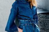 Denim-Trends 2019: Jacke und Paperbag-Shorts
