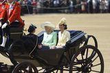 Trooping the Colour: Kate, Meghan und Camilla in der Kutsche