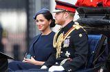 Trooping the Colour: Herzogin Meghan und Prinz Harry in der Kutsche