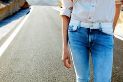 Denim-Trends 2019: Bluse