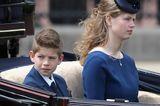 James, Viscount Severn, und Lady Louise Windsor, die Kinder von Prinz Edward, sind zu Ehren der Oma auch mit von der Partie.