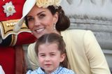 Trooping the Colour: Herzogin Kate und Prinzessin Charlotte