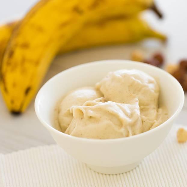 Bananeneis selber machen – ohne Eismaschine