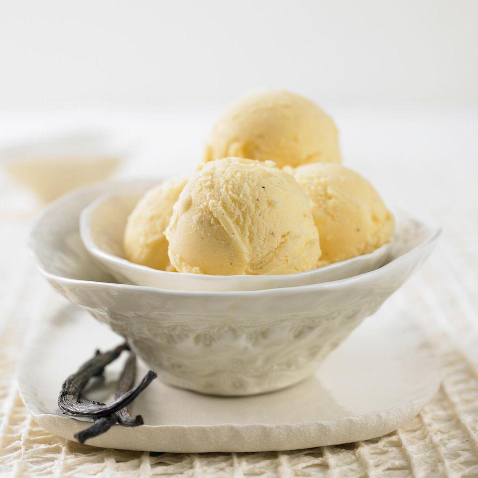Vanille-Eiscreme