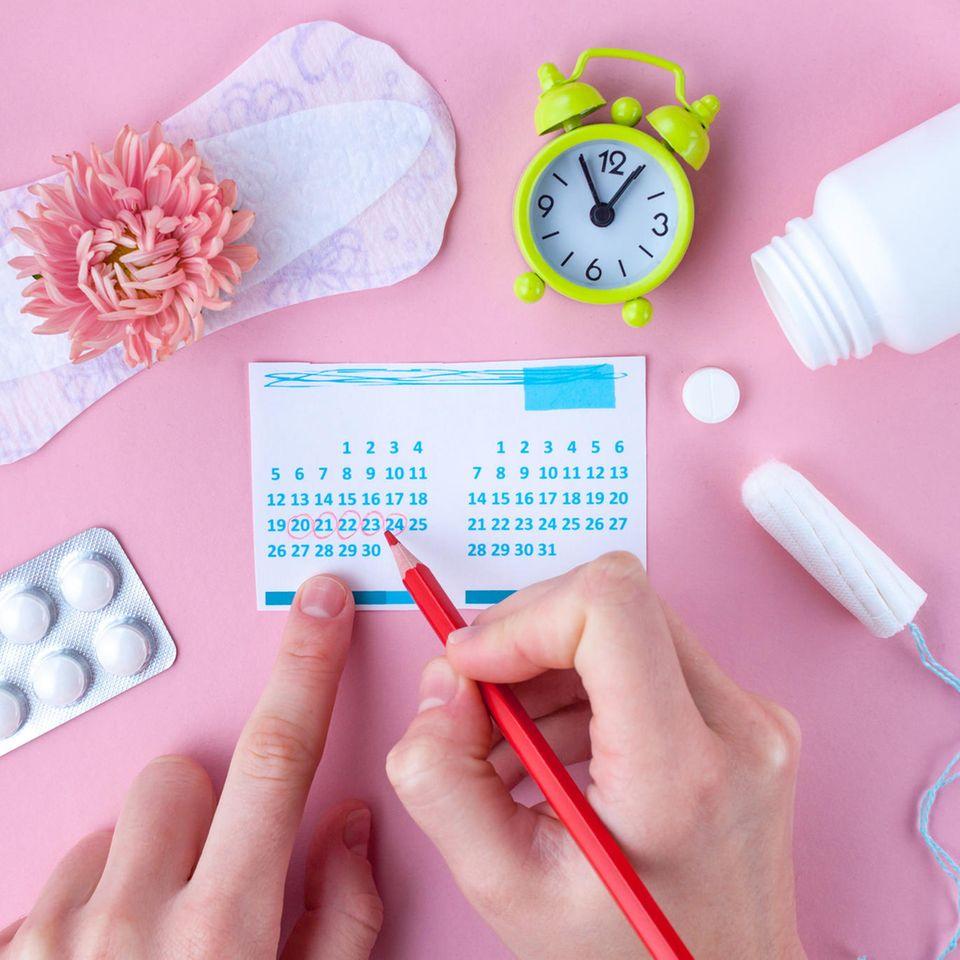 Schmierblutung statt Periode? Verschiedene Hygieneartikel