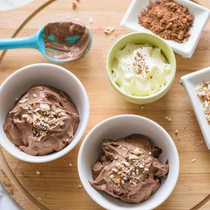 Low-Carb-Eis: Schokoladiges Low-Carb-Eis