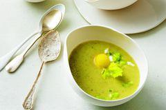 Kartoffel-Sellerie-Suppe