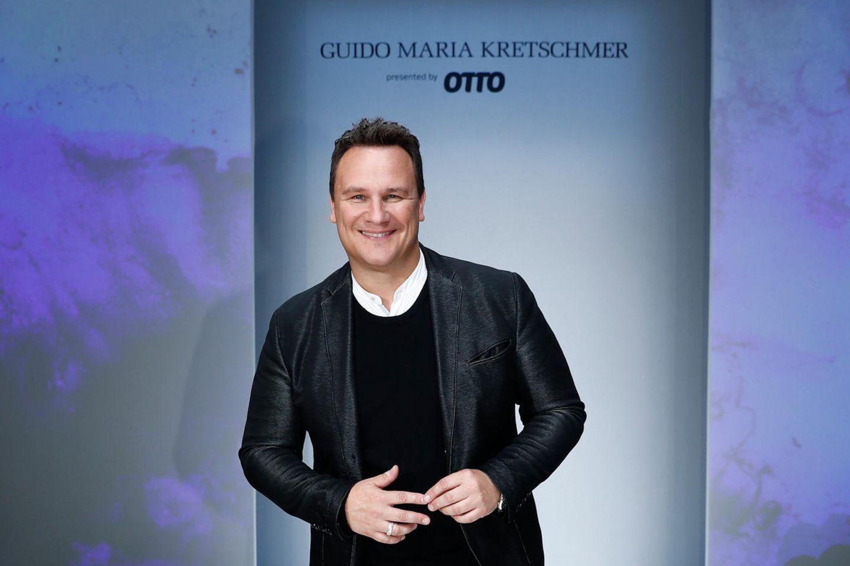 Guido Maria Kretschmer auf dem Laufsteg