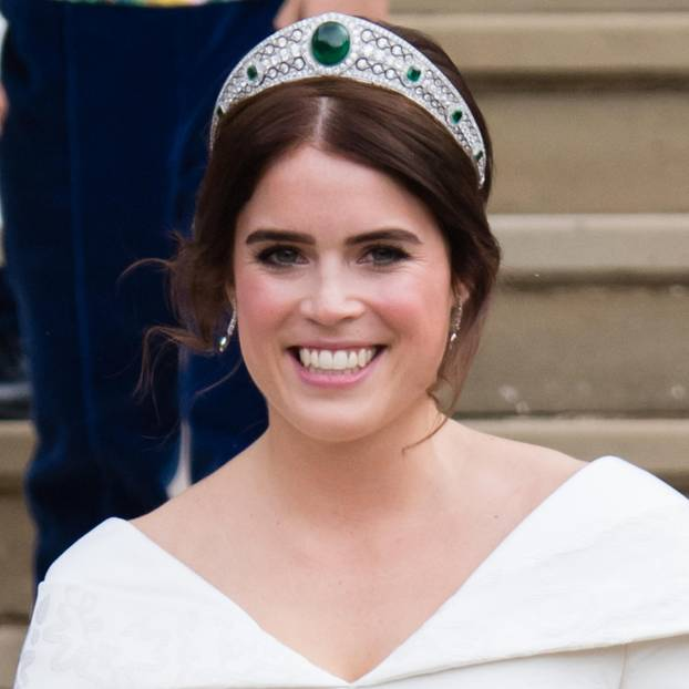 Prinzessin Eugenie auf ihrer Hochzeit 2018