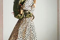 Sommerliche Animal-Prints: Kleid im Leo-Muster