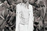 Weißtöne: Mantel aus Seidenmix