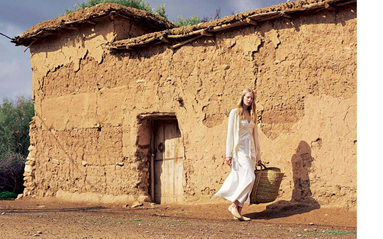 Weißtöne: Baumwollkleid