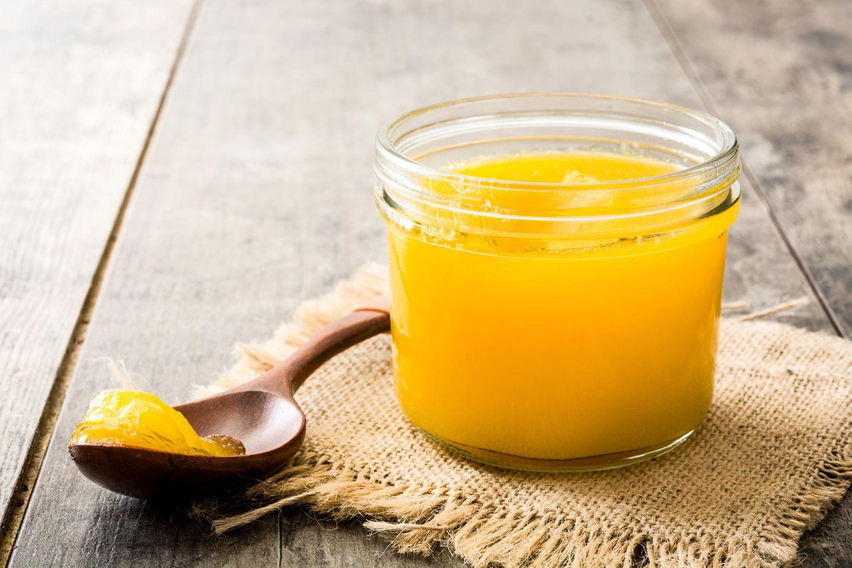Ghee - die neue Alternative zu Butter: Ghee im Glas