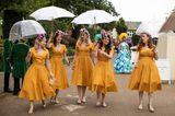 Royal Ascot 2019: Gäste in gelben Kleidern