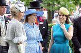 Royal Ascot 2019: Prinzessin Beatrice und Eugenie