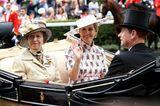 Royal Ascot 2019: Prinzessin Anne, Herzogin Sophie und Prinz Edward