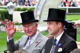Royal Ascot 2019: Prinz Charles und Prinz William