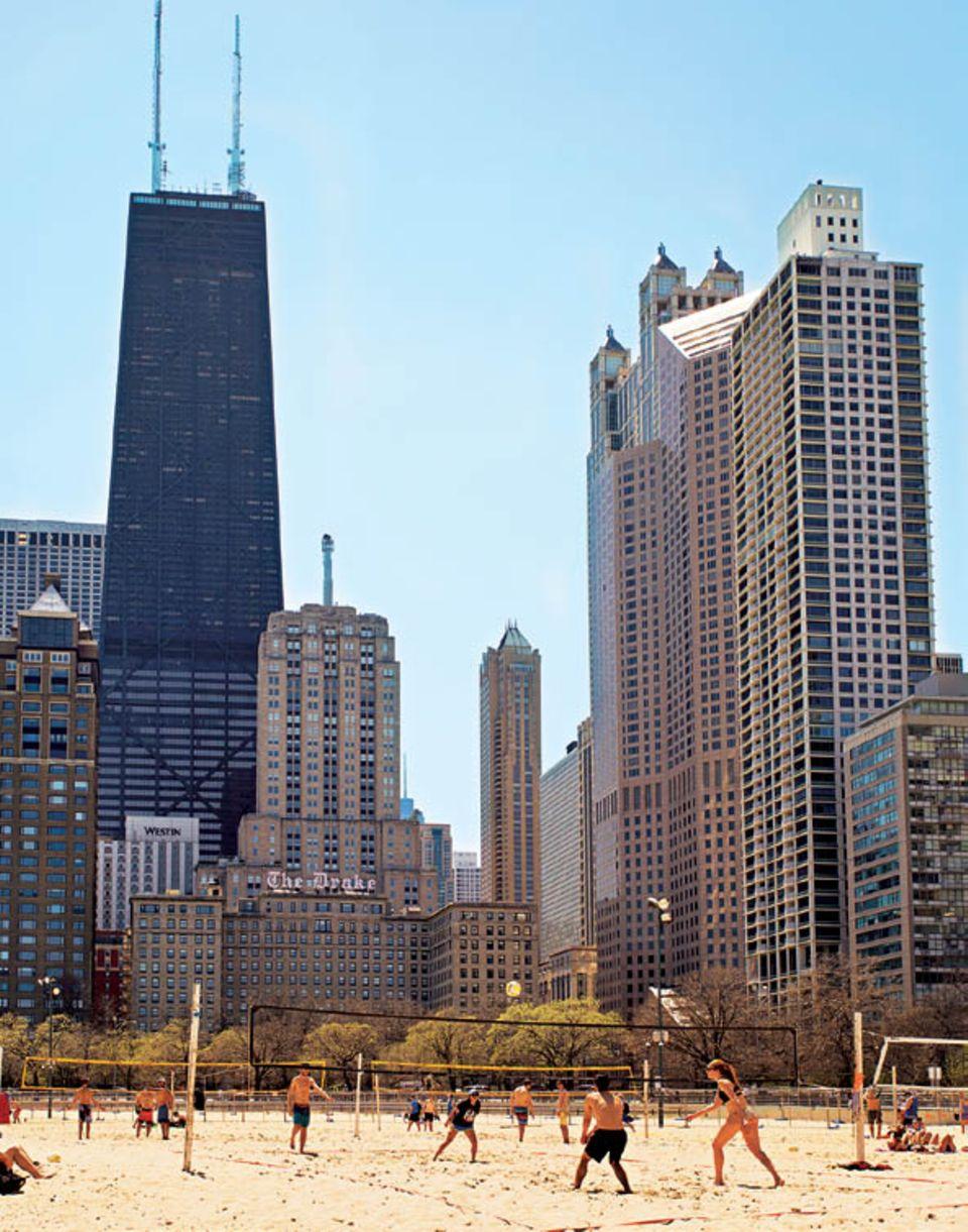 Chicago: Strand in der Stadt