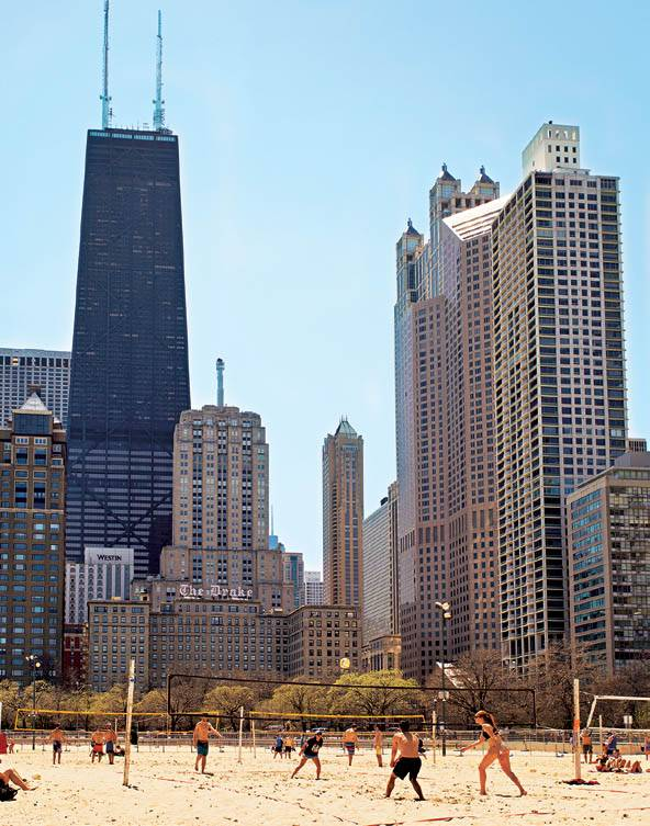Chicago: Strand in der Stadt
