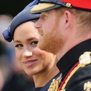 Fieser neuer Spitzname für Herzogin Meghan: Herzogin Meghan und Prinz Harry